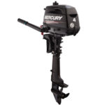 2018 Mercury 4 Hp 4MLH Outboard Motor