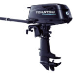 2018 Tohatsu 5 Hp MFS5CL Outboard Motor